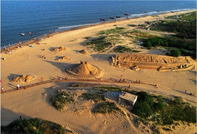 南戴河沙雕大世界、出海观光休闲二日游