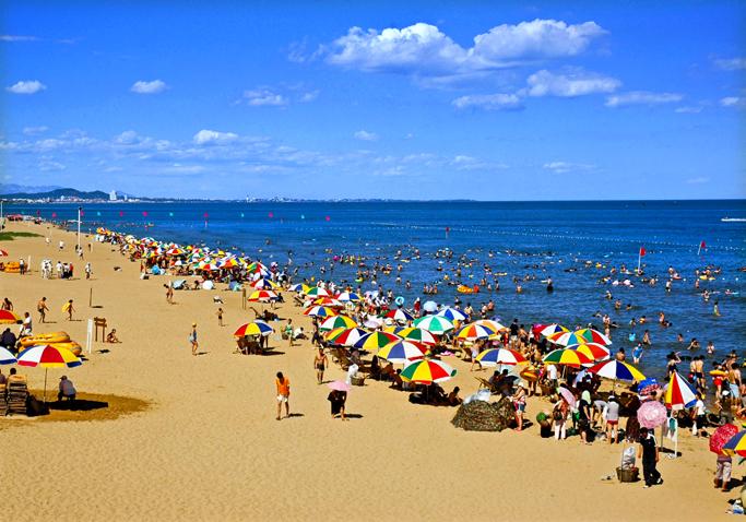 南北戴河、黄金海岸滑沙、疯狂夏日二日游