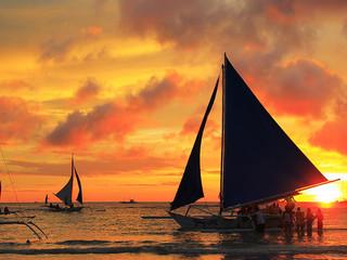 【长滩岛3晚5天自由行】长滩岛3A级度假村 包机直飞