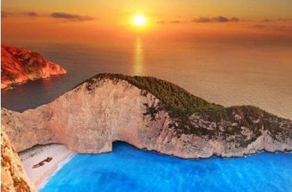 <尊品>希腊12日游  扎金索斯 米克诺斯 雅典五星 圣岛悬崖酒店 内陆加飞
