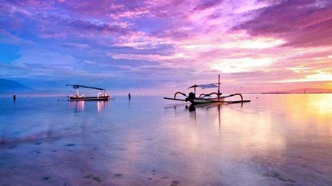 <超值>巴厘岛4晚6日 4晚国际四星蜜月套房 阿勇河漂流 精油SPA 蓝点教堂下午茶