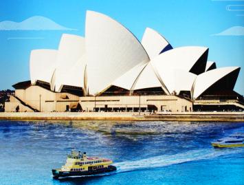 <初见澳洲>澳大利亚一地7日游 悉尼 墨尔本 布里斯班  澳航直飞