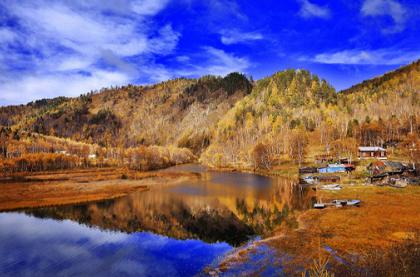 <贝加尔湖>俄罗斯贝加尔湖湛蓝之恋畅游8天线路  北京直飞 木屋别墅