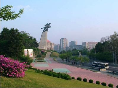 <朝鲜火车团>平壤、开城 板门店 三八线 联运去专列回双卧6日